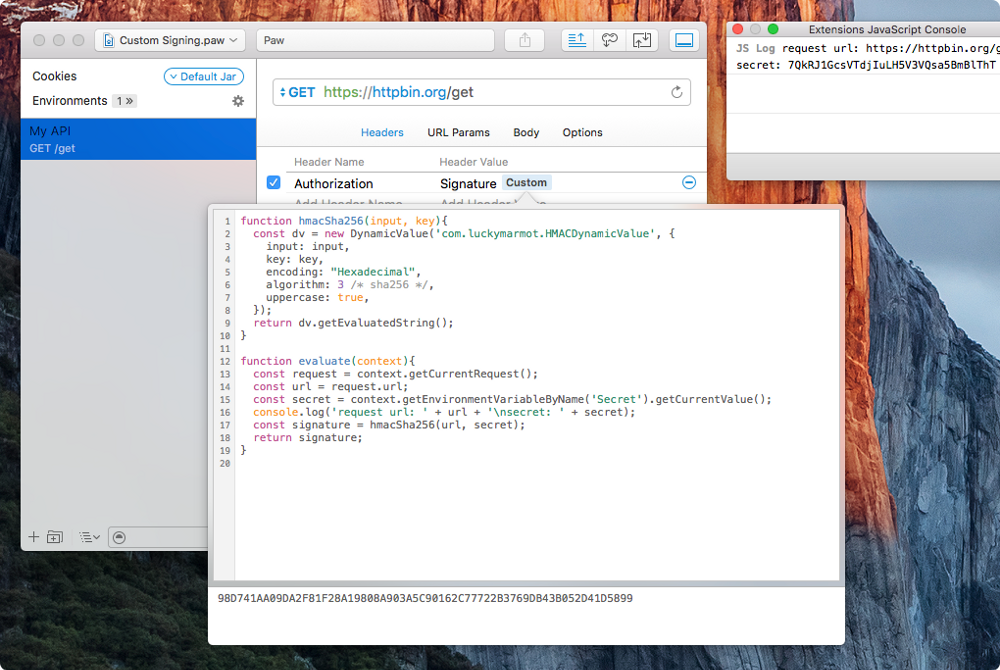 Make your app extensible with JavaScript Core