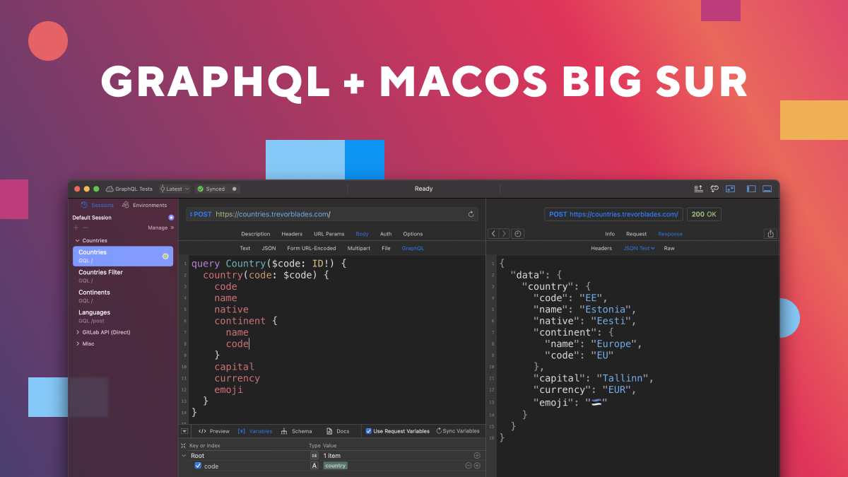 Paw 3.2 - GraphQL + Support for macOS Big Sur